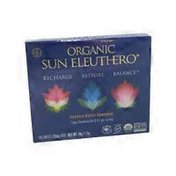 Organic Sun Eleuthero Eleuthero Dietary Supplement