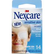 Nexcare Eye Patch, Sensitive Skin, Regular Size