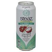 Steaz Iced Green Tea, Organic, Unsweetened Dragonfruit