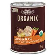 Castor & Pollux Organix Adult Dog Food Turkey, Carrot & Potato Formula