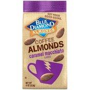 Blue Diamond Almonds Caramel Macchiato Coffee Almonds