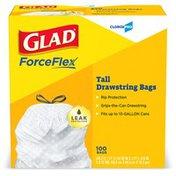 Glad 13 Gallon Tall Kitchen Drawstring Bags