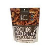 Made in Nature Toasted Coconut Chips, Italian Espresso