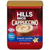 Hills Bros. Sugar Free French Vanilla Cappuccino Café Style Drink Mix