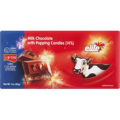 Elite Milk Chocolate with Popping Candies