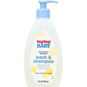 Buy Buy Baby Wash & Shampoo, Delicately Scented