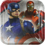 DesignWare Plates Captain American 3