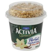 Dannon Parfait, Lowfat Yogurt, Vanilla,