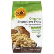 Wild Harvest Fries, Organic, Shoestring