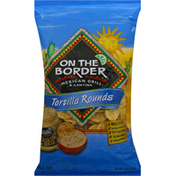 On The Border Tortilla Rounds Tortilla Chips
