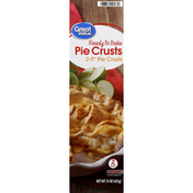 Great Value Pie Crusts, 9 Inches