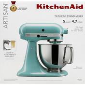 KitchenAid Stand Mixer, Tilt-Head, Aqua Sky