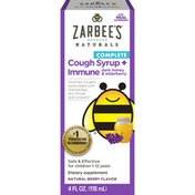 Zarbee's Naturals Children's Complete Daytime Cough Syrup + Immune, Berry