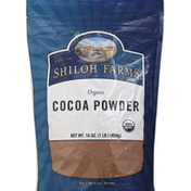 SHILOH FARMS Cocoa Powder, Organic