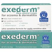 exederm Flare Control Cream, for Eczema & Dermatitis, Ultra Sensitive Formula