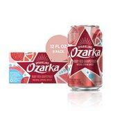Ozarka Sparkling Water, Ruby Red Grapefruit