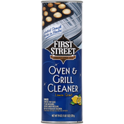 First Street Oven & Grill Cleaner, Lemon Scent