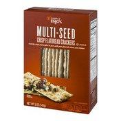Simply Enjoy Crisp Flatbread Crackers Multi-Seed