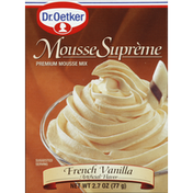 Dr. Oetker Mousse Mix, Premium, French Vanilla