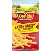 Ore-Ida Extra Crispy Fast Food French Fries Fried Frozen Potatoes