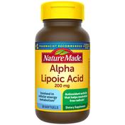Nature Made Alpha Lipoic Acid 200 mg Softgels