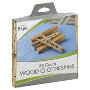 Bajer Clothespins, Wood