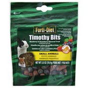 Forti Diet Timothy Bits, Small Animals, Blueberry & Strawberry Flavored Treat