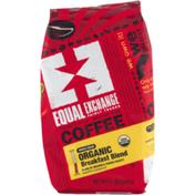 Equal Exchange Coffee Organic Breakfast Blend Whole Bean