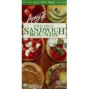 Amy's Kitchen Sandwich Rounds, Organic