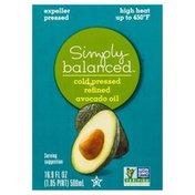 Simply Balanced Avocado Oil, Cold Pressed, Refined