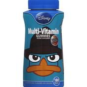 Disney Multi-Vitamin Gummies, Grape, Orange and Cherry