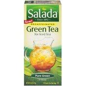 Salada Decaffeinated Green Tea Family Size Tea Bags