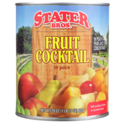 Stater Bros. Markets Fruit Cocktail In Peach & Pear Juice From Concentrate