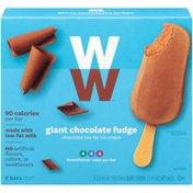 Weight Watchers Chocolate Fudge Ice Cream GIANT Bar, 6pk