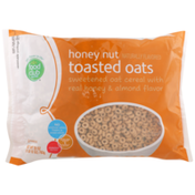Food Club Sweetened Toasted Oats Cereal With Real Honey & Almond Flavor