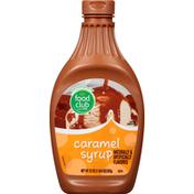 Food Club Syrup, Caramel