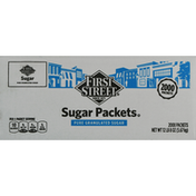 First Street Sugar Packets, Pure Granulated
