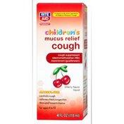 Rite Aid Pharmacy Mucus Relief, Children's, Cough, Cherry, 4 fl oz (118 ml)