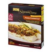 Sea Best Signature Cod Potato Crusted - 2 CT