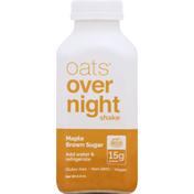 Oats Overnight Shake, Maple Brown Sugar