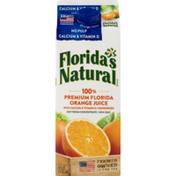 Florida's Natural 100% Premium Florida Orange Juice Calcium & Vitamin D No Pulp