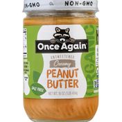 Once Again Peanut Butter, Salt Free, Creamy, Unsweetened