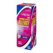 CareOne Cherry Flavor Adult Allergy Liquid Medication Maximum Strength