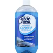 Blue Coral Car Wash Concentrate, High Foam