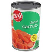 Big Y Sliced Carrots