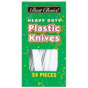 Best Choice Heavy Duty Plastic Knives