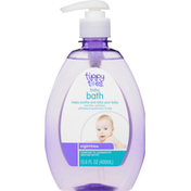 Tippy Toes Baby Bath, Nighttime