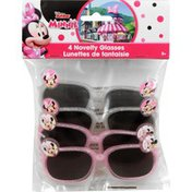 Disney Novelty Glasses, Minnie, 3+