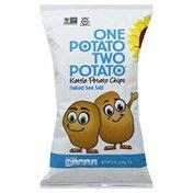 One Potato Potato Chips, Kettle, Naked Sea Salt