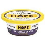 Hope Foods Dip, Superfood, Organic, Original Lentil